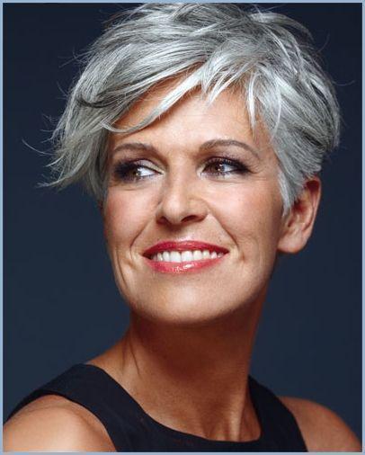 Frisuren fur graue halblange haare