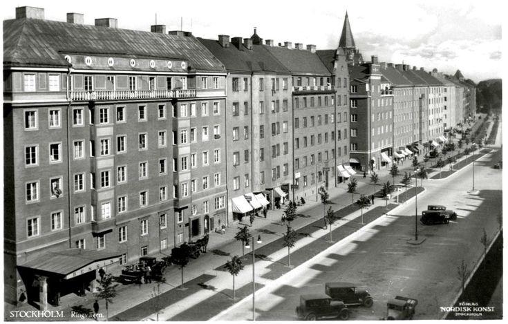Stockholm. Ringvägen. | NK 6002/614. | lennartborjeson | Flickr