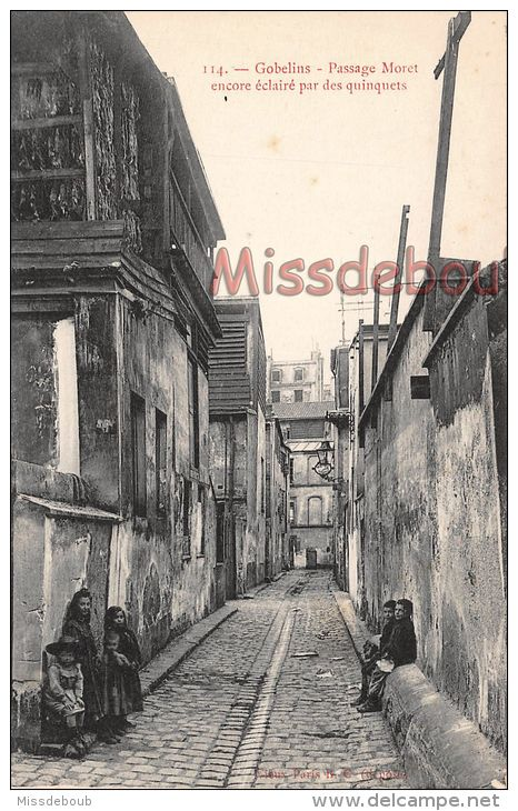 Gobelins - Passage Moret -Cartes Postales > France > [75] Paris > Arrondissement: 13 - Delcampe.fr