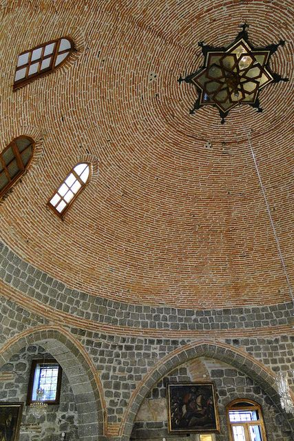 Dome of Meryem Ana Kilisesi - Church of the Virgin Mary - Diyarbakir - Turkey