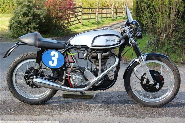 Norton Manx 1960 Inter engine