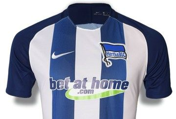 Hertha BSC 2016/17 Nike Home Kit