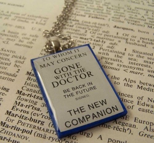 Doctor Who - The New Companion Necklace | daydreamemporium - Jewelry on ArtFire