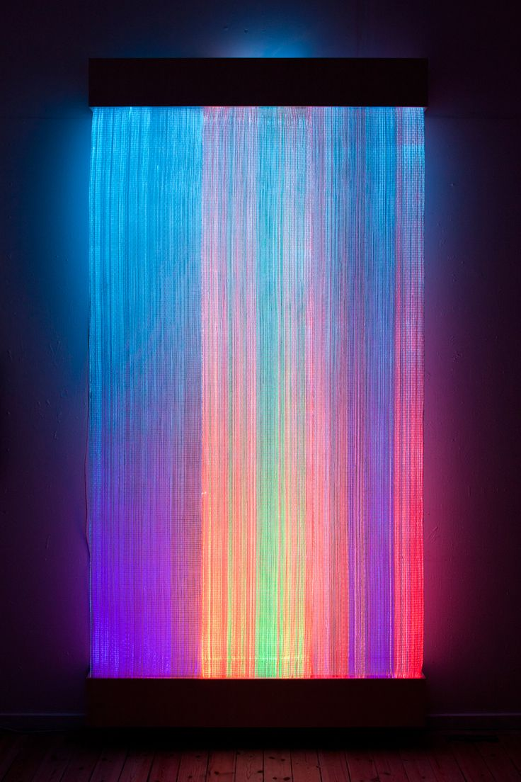 + Plateia.co #ValoramoslaExcelencia #PlateiaColombia #arte #art #artista #artist #Escultura #Sculpture Astrid Krogh - Optic Fiber Tapestry.