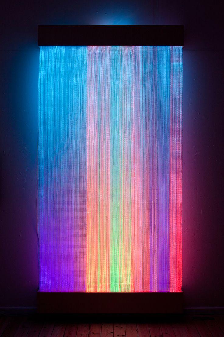 Astrid Krogh - Optic Fiber Tapestry