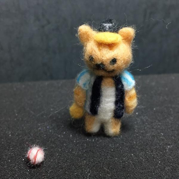 Twitter@ykki55 羊毛フェルトの「たてじまさん」 #羊毛フェルト #ねこあつめ pic.twitter.com/HDcPh2Oe3h