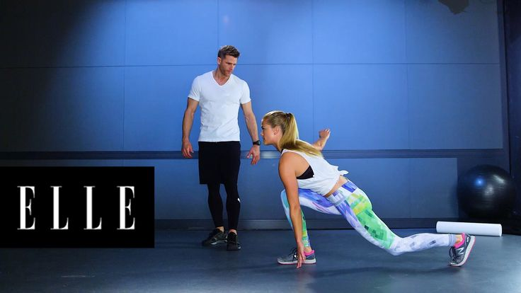 3 Moves To Get a  Supermodel's Thighs and Butt: Supermodel Nina Agdal and her trainer Andy Speer show us the quick moves they use to get toned thighs.