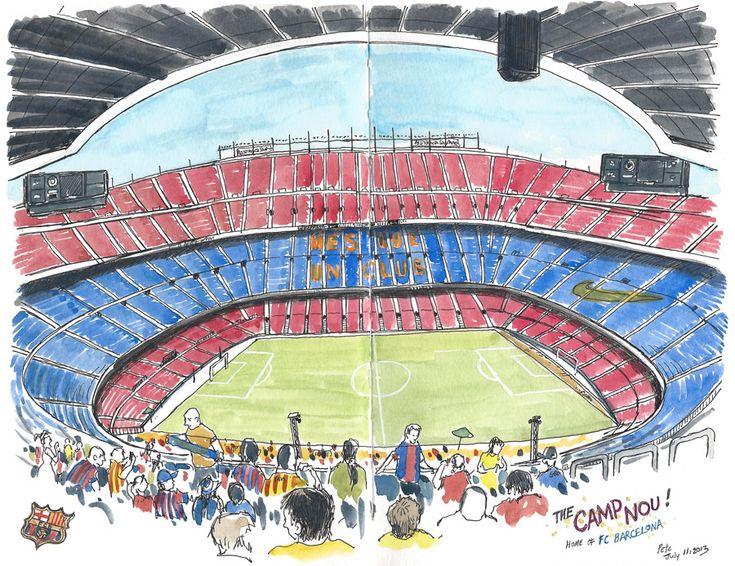 Camp Nou, Barcelona | by petescully
