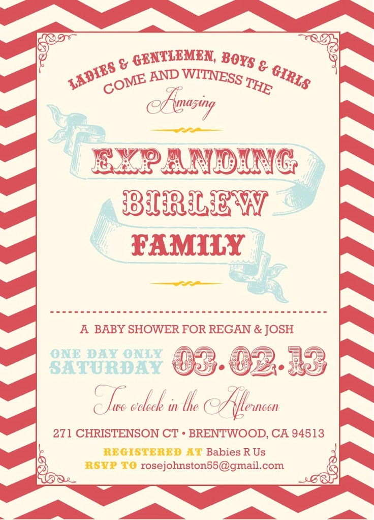 28 best Circus Themed Baby Shower Ideas images on Pinterest ...