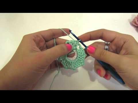 كروشيه فراشة ثلاثية الأبعاد Crochet Butterfly 3D