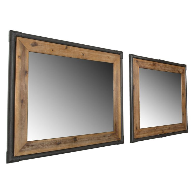 The Workshop Wall Mirror from LH Imports is a unique home decor item. LH Imports Site carries a variety of Workshop items.