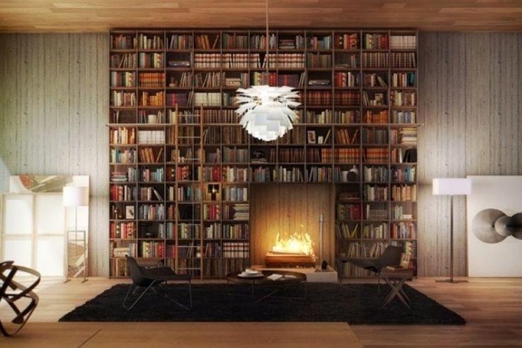 bibliotheque-moderne-murale-cheminee-ouverte-salon-minimaliste-cosy