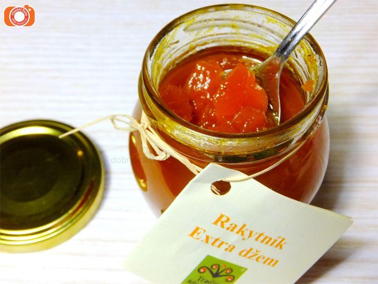 Rakytníkový extra džem je příjemně kyselkavý