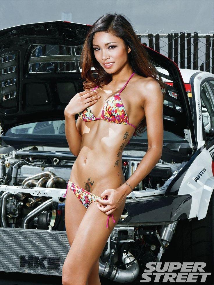 Hot bikini photos car consider, that
