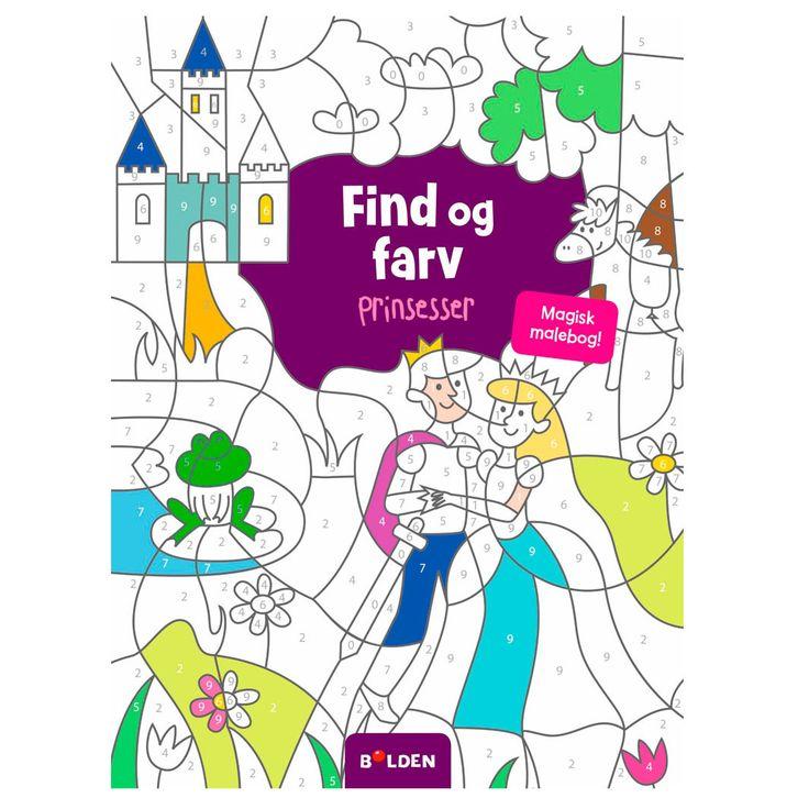 En magisk malebog fra Forlaget Bolden! Bag hvert virvar af streger gemmer der sig både prinsesser, prinser og fornemme slotte.! Bestil malebøger online her.