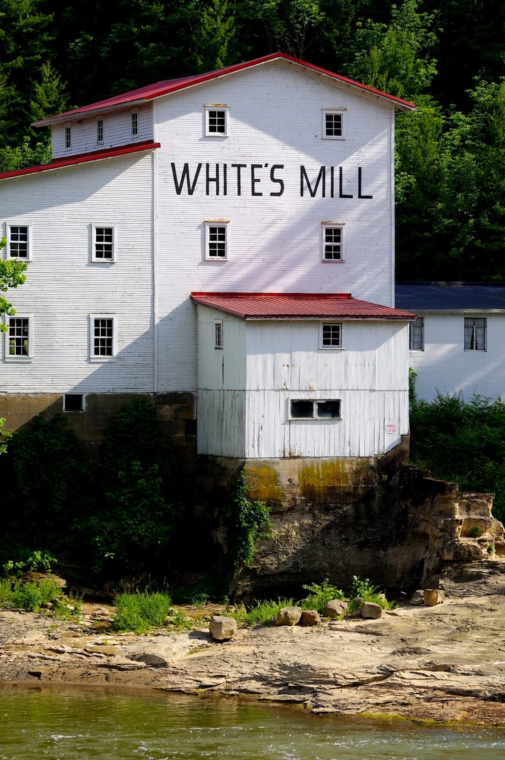White's Mill, Athens, Ohio I'm a descendent of the family that owns this mill.