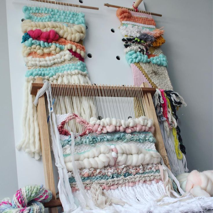 A weaver loving this hobby!