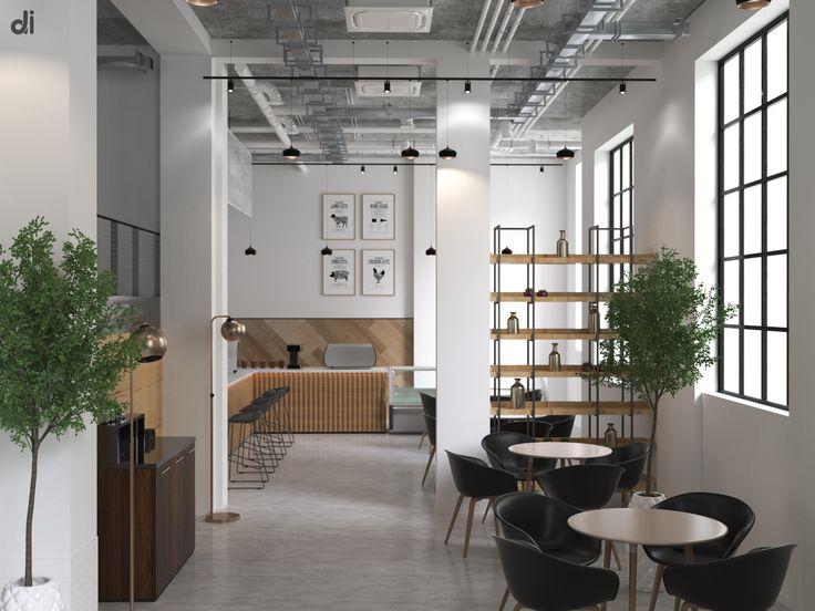 Визуализация кофейни в стиле Лофт, работа выполнена для реализации объекта в Южной Корее. Стиль Loft возник в 40-х годах в США, среди заброшенных фабрик, складов, и мастерских. Основа стиля состоит из деталей: максимально простая мебель, холодных оттенков, полное отсутствие декорирования и максимально большие окна, различные кирпичные выступы, отштукатуренные стены и дощатый пол. Если у Вас есть возможность свободной планировки пространства Вашего дома или квартиры или  хотите при…
