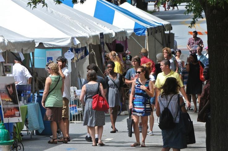 2012 AJC Decatur Book Festival crowd