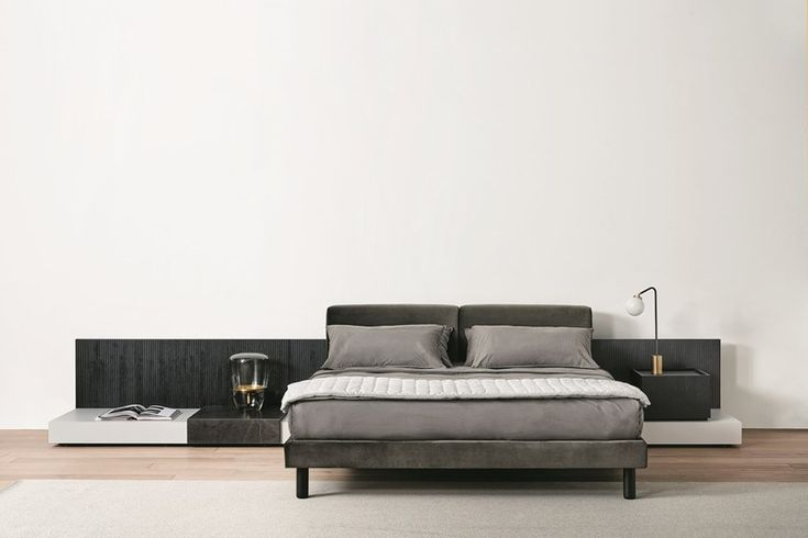 CLIFF Bed By Meridiani design Andrea Parisio Idee