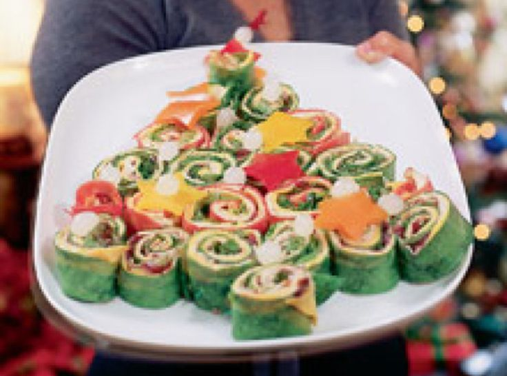 Wrap and Stack Sandwich Tree  Recipe  Wraps Appetizer dips and Dips