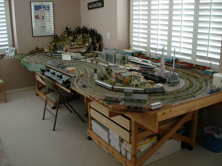 Ho train table plans bing images ho railways pinterest beautiful search and table plans - Ho scale layouts for small spaces concept ...