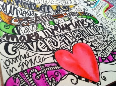 Whimspirations: the art of the doodle