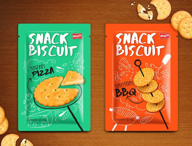 Snack Biscuit Packag...