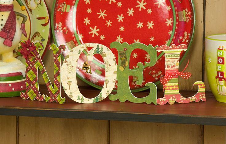 noel legno decorate - Cerca con Google