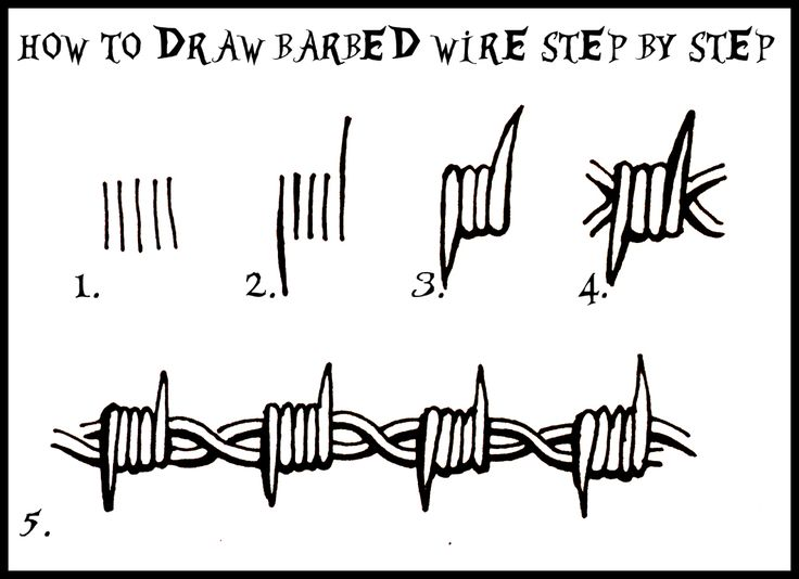 Simple Barbed Wire Drawing 23 best barbed wire drawings images on pinterest | tribal tattoos