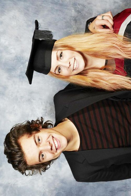 Harry Styles & Gemma Styles