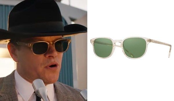 Ken Miles And Caroll Shelby Sunglasses In Ford V Ferrari 2019