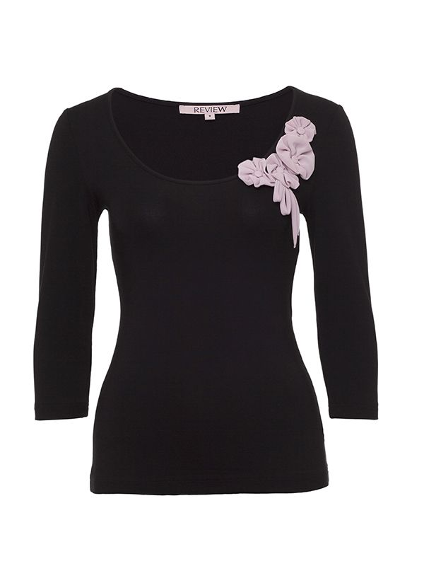 Mimi 3/4 Sleeve Top | Tops | Review Australia