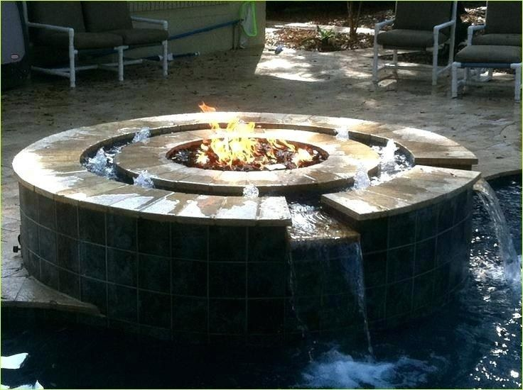 40 Stunning Diy Fire And Water Fountain Ideas Let S Diy Home Outdoor Fire Pit Diy Water Fountain Water Fountain