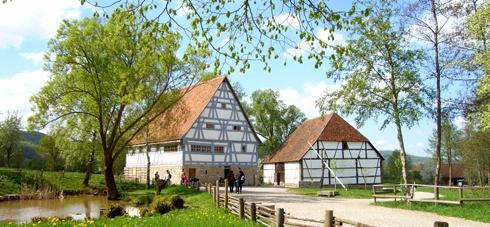 Hohenloher Freilandmuseum Wackershofen -   Open air museum near Schwäbisch Hall
