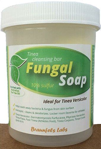 Helps Wash Away Bacteria & Fungus from Skin Mantle;Antiseptic - Cleans & Deodorizes. Ideal for athletes.; #Tinea Versicolor, Dermatomycosis Furfuracea, Pityriasis...