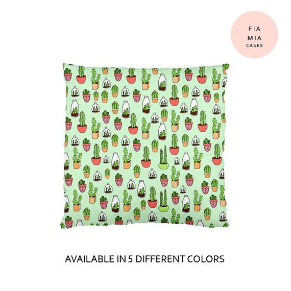 Cactus pillow,cute pillow,pillow,cushion,pillow case,cute,kawaii,gift,birthday gift,cactus,plant,case,decorative pillow,succulent,mexican,6