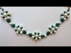 (5) Easy DIY bracelet project. How to make bracelets with beads(pearl beads, seed beads) - YouTube