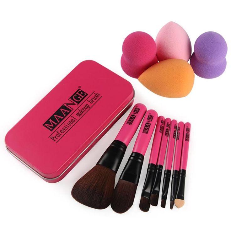 $4.55 (Buy here: https://alitems.com/g/1e8d114494ebda23ff8b16525dc3e8/?i=5&ulp=https%3A%2F%2Fwww.aliexpress.com%2Fitem%2FBeauty-Girl-7Pcs-New-Fashion-Makeup-Brush-Make-up-Toiletry-Kit-Wool-4-Pcs-Make-Up%2F32753985701.html ) Beauty Girl 7Pcs New Fashion Makeup Brush Make-up Toiletry Kit Wool +4 Pcs Make Up Sponges Oct 20 for just $4.55