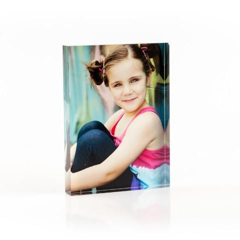 "Personalised Acrylic 6""x8"" Photo Block"
