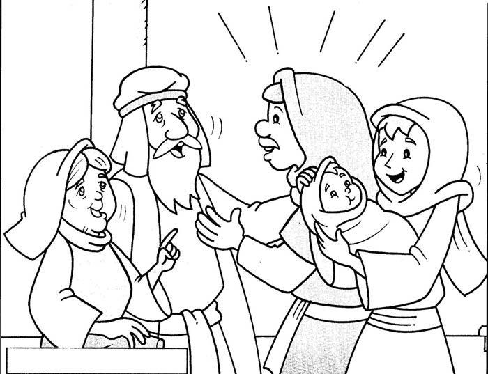 Presentazione Di Gesu Al Tempio 19JPG 700x537 Preschool ChristmasBible CraftsEmsTempleMinistryColoringAnnaSunday