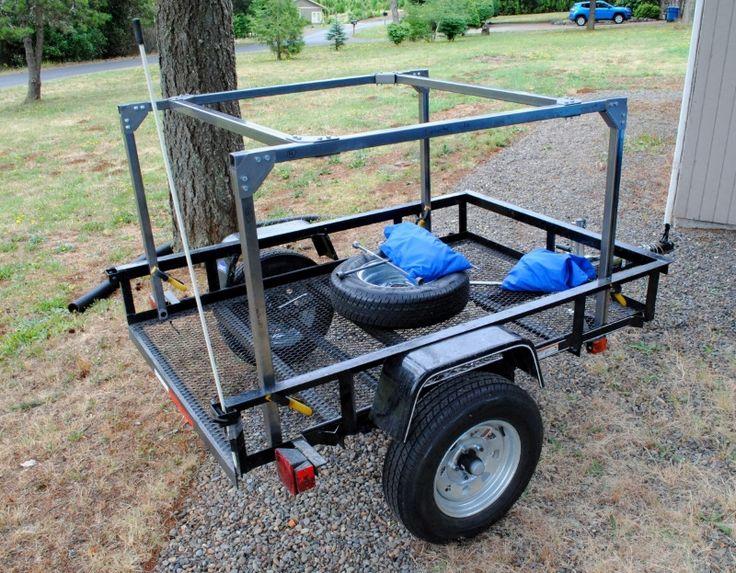 Diy noweld rack camping trailer diy camping trailer