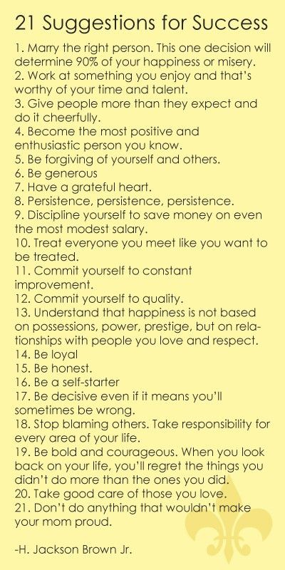 Love this List! 21 Suggestions and Tips about Life #Successful #Life #Quotes #Words #Tips #Inspirational #Sayings