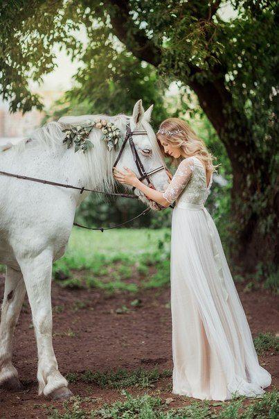 Boho Hochzeitskleid böhmische Hochzeit Brautkleider von Goroshina