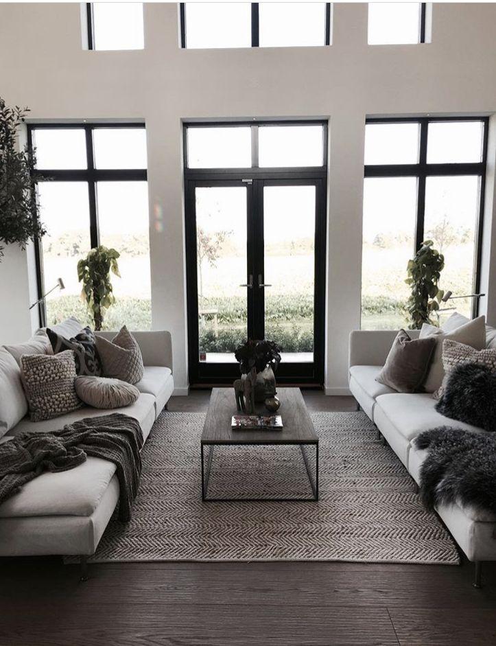 Pin By 𝒮𝓉𝓎𝓁𝑒 On Vardagsrum Living Room Decor Modern Modern Minimalist Living Room Minimalist Living Room Design