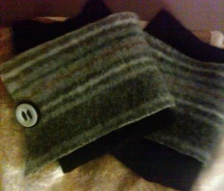 Start now, collect wool sweaters from Goodwill Industries, yard sales, (your own closet) or the hubby's closet (with permission).    I'm about to...