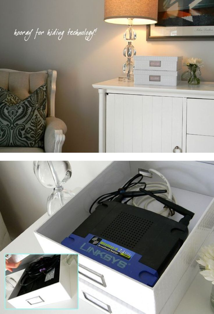 The 25+ best Hide cable box ideas on Pinterest | Hiding cable box, Cable tv  box and Hiding cables