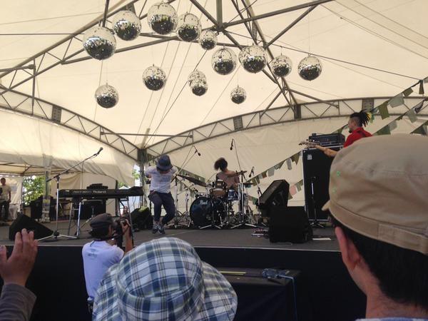 頂 -ITADAKI- 2015、 Schroeder-Headz、 天気も快晴、痛快なライブ出来ました。 有難うございました!  明日は、名古屋へ@ビジュアルアーツAIR HALL「SAKAE SP-RING」※20:15~出演です