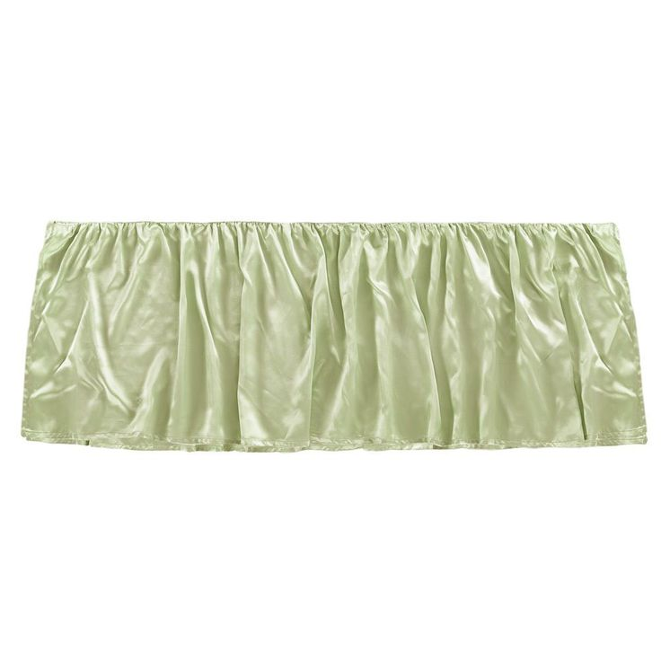 100% Mulberry Silk Baby Cot Crib Bed Skirt Toddlers 22 Momme Standard Lilysilk