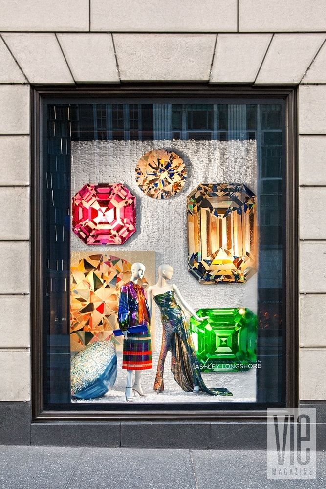 Longshore s art filled the iconic Bergdorf Goodman windows on Fifth Avenue  this past January.  7ee5d46b94e